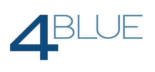 4BLUE distributor logo
