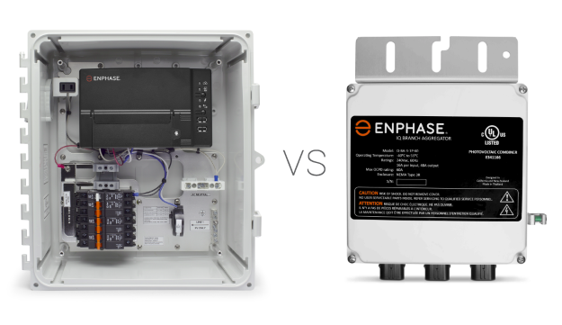 Enphase IQ Aggregator vs IQ Combiner Box Design Decision