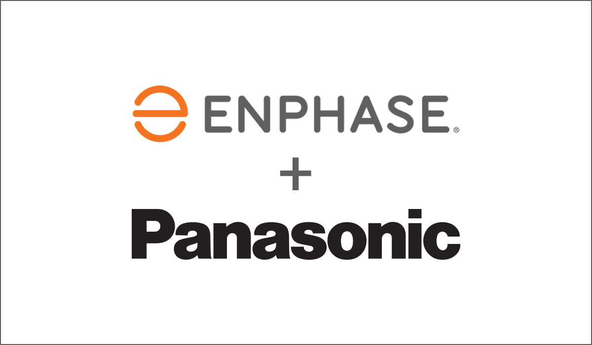 Panasonic Solar and Enphase Announce Availability of High-Efficiency AC Modules