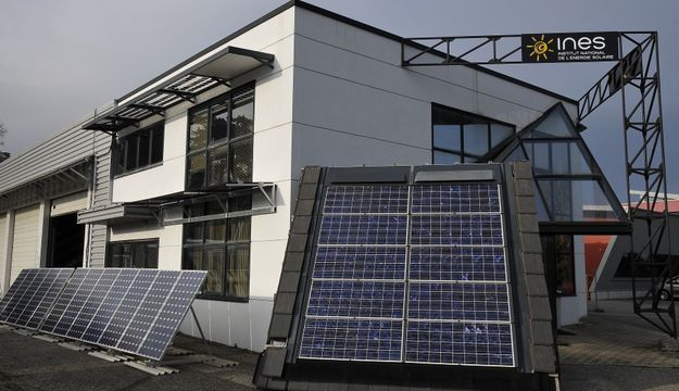 Le centre de formation de l'INES à La Ravoire, Chambéry