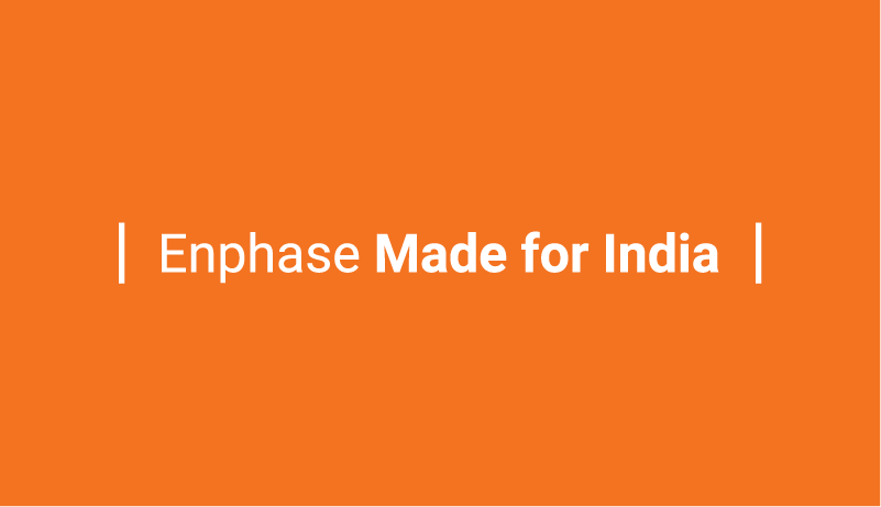 Enphase at Intersolar India