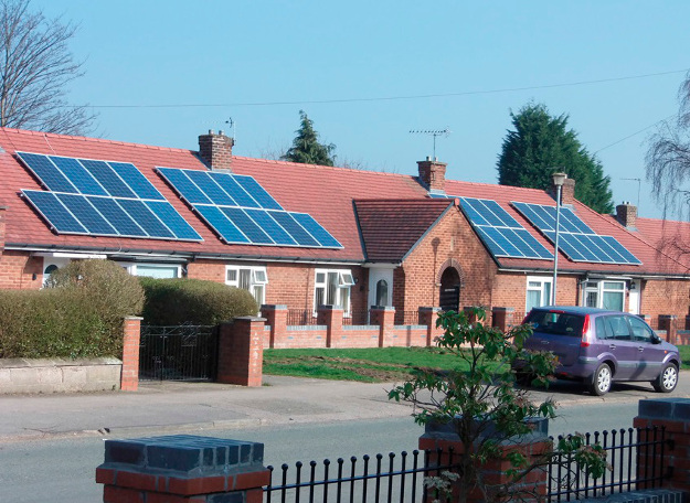 One Solution Fits Many Roofs in UK Social Housing