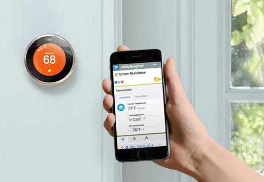 Enphase Energy + Nest Thermostat