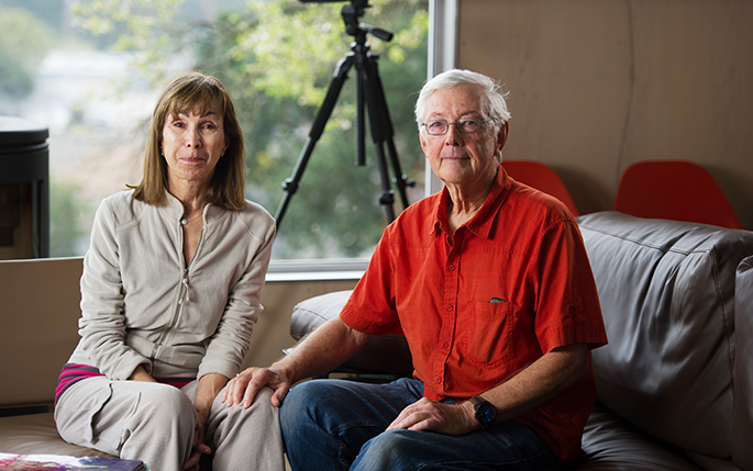 Jay and Milli, homeowners who have Enphase solar