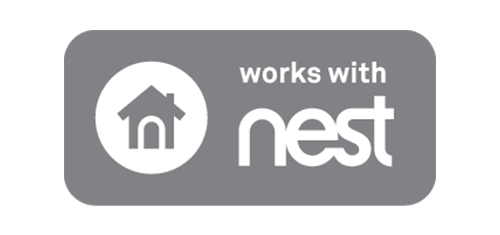 Works with Nest logo
