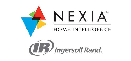 Nexia logo and Ingersoll Rand logo