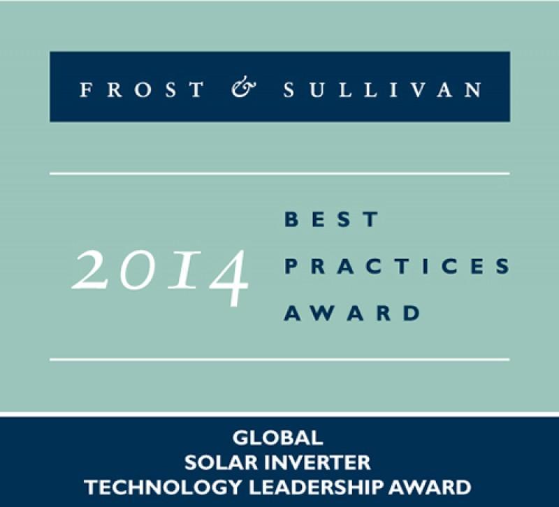 Enphase Wins 2014 Global Frost & Sullivan Award for Technology Leadership