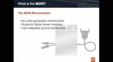 Enphase M250 Microinverter Features