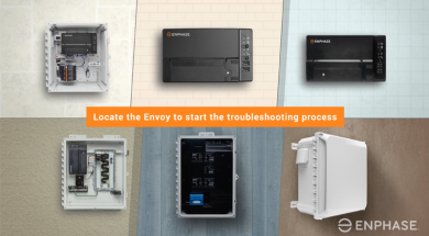 Reconnect your IQ Envoy or Envoy S to a Wi-Fi network using the Enphase Enlighten App